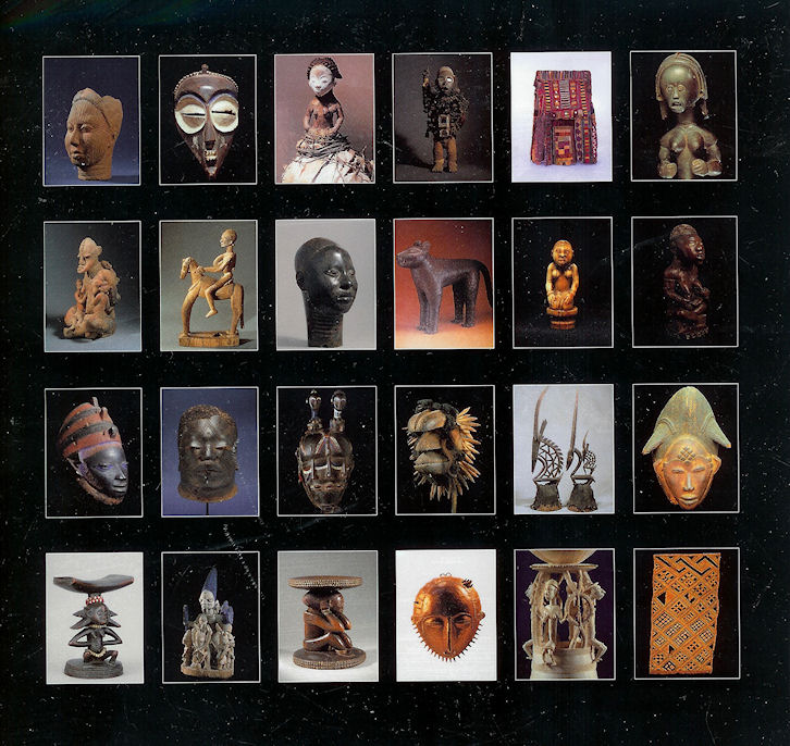 Image for African Art Portfolio: an Illustrated Introduction Masterpieces from the Eleventh to the Twentieth Centuries/book and Portfolio