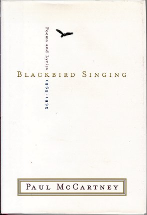 Image for Blackbird Singing: Poems and Lyric 1965-1999