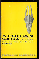 Image for African Saga: a Brief Introduction to African History