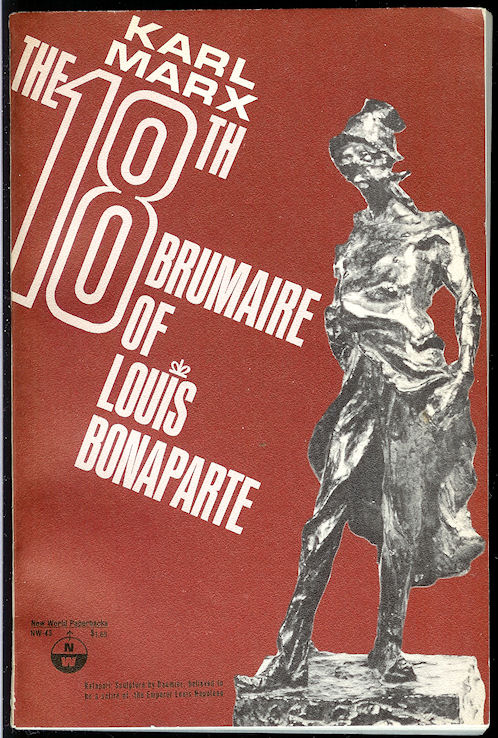Image for The 18th Brumaire of Louis Bonaparte
