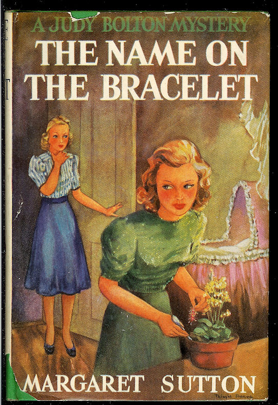 Image for The Name on the Bracelet- a Judy Bolton Mystery