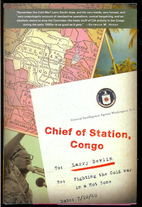 Image for Chief of Station, Congo: Fighting the Cold War in a Hot Zone