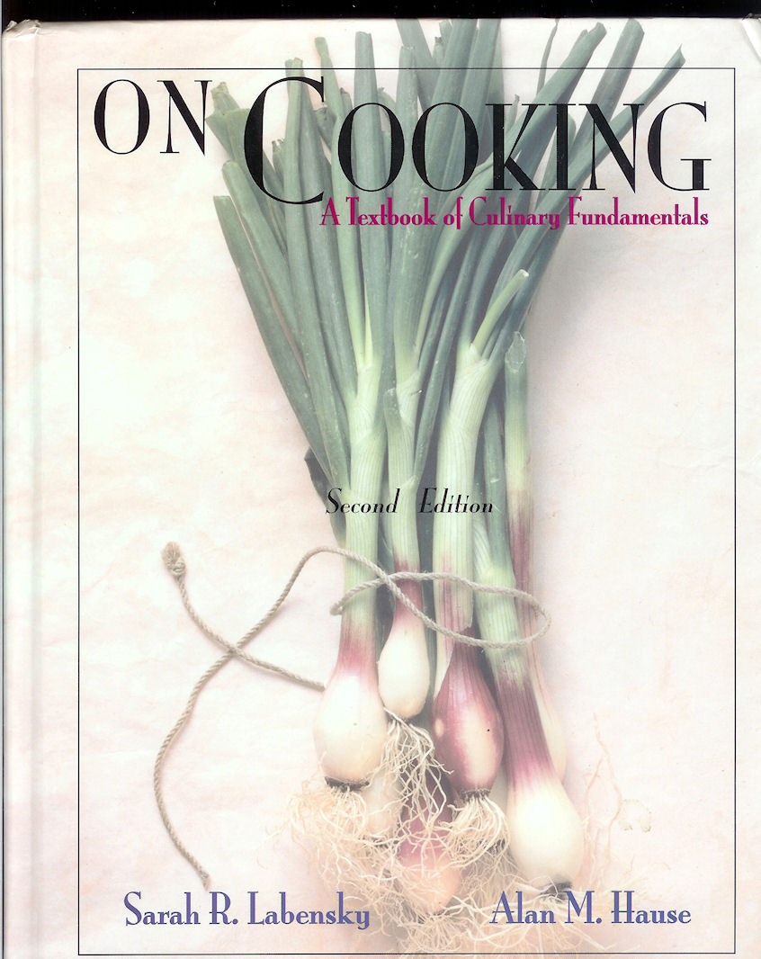 Image for On Cooking: a Textbook of Culinary Fundamentals