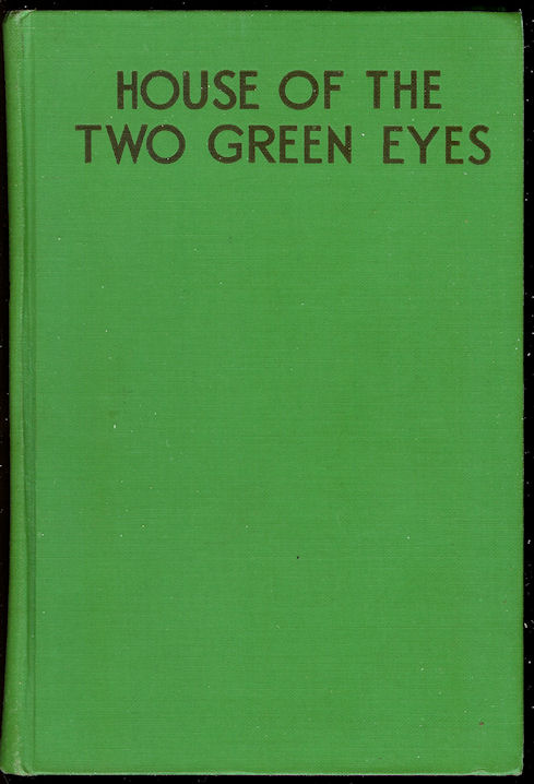 Image for House of the Two Green Eyes