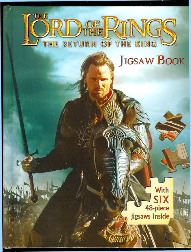 Image for The Lord of the Rings, the Return of the King Jigsaw Book