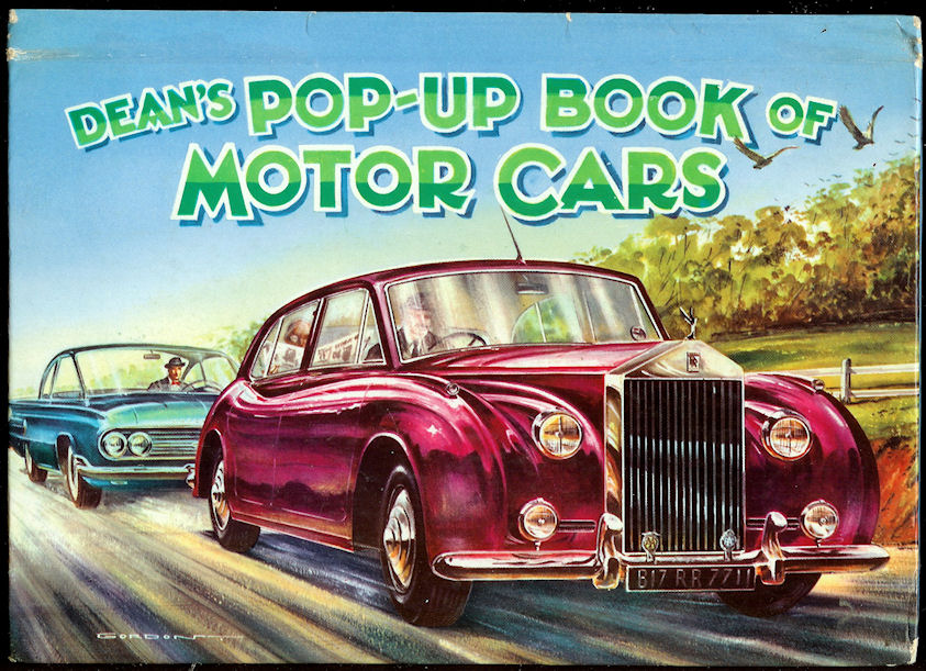 Image for Dean's Pop-Up Book of Motor Cars