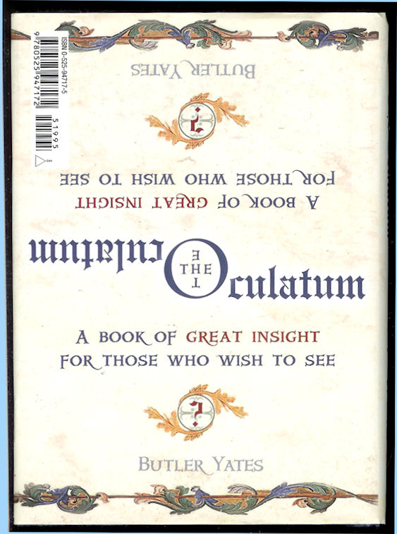 Image for The Oculatum A Book of Great Insight for Those Who Wish to See