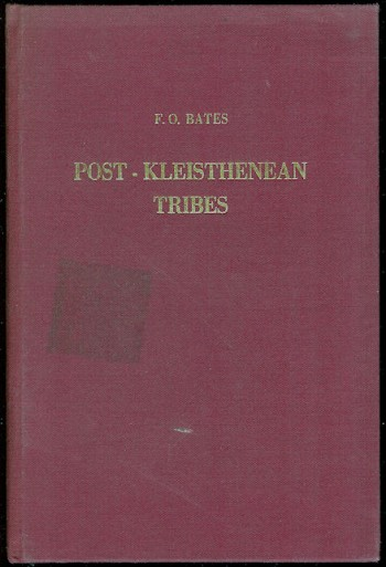Image for The Five Post-Kleisthenean Tribes