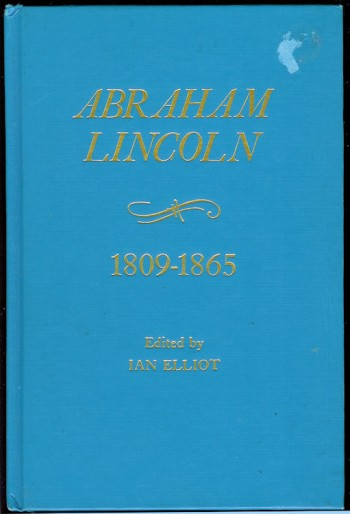 Image for Abraham Lincoln 1809-1865 Chronology-Documents-Bibliographical Aids