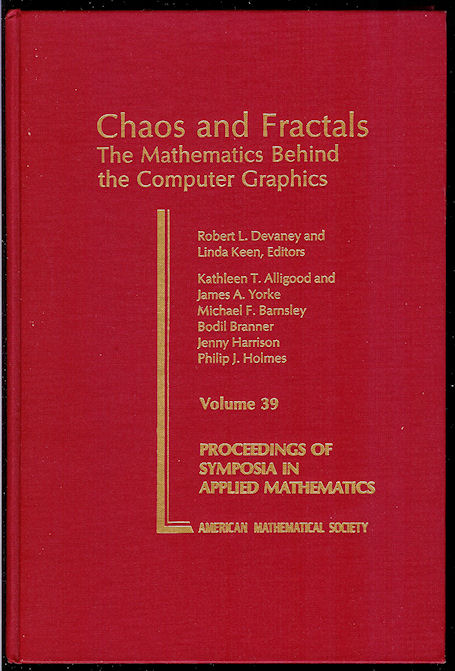 Image for Chaos and Fractals The Mathematics Behind the Computer Graphics
