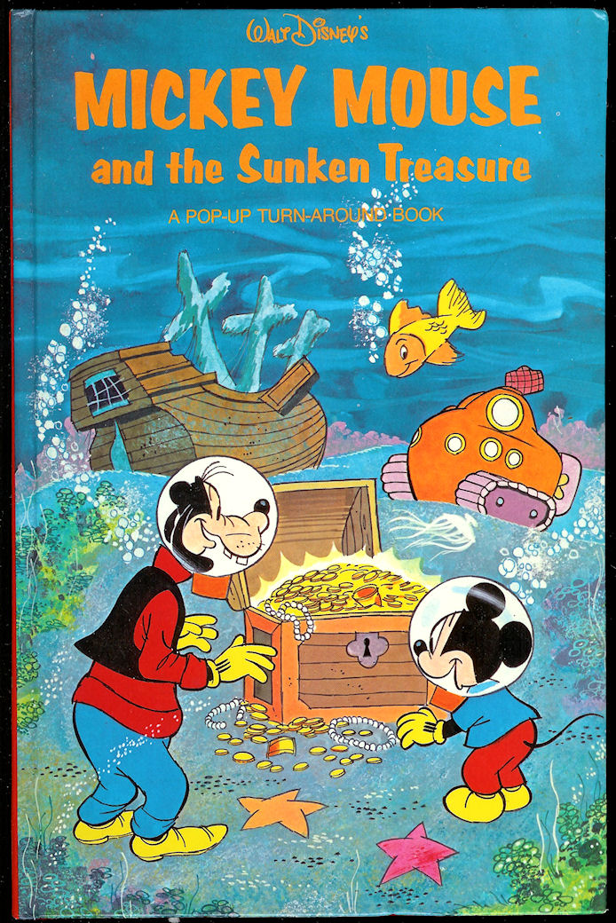 Image for Mickey Mouse and the Sunken Treasure A Pop-Up Turn-Around Book